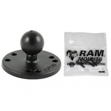 "2.5"" Round AMPS Base, 1"" Ball & Hardware for the Garmin Striker 4 Series"